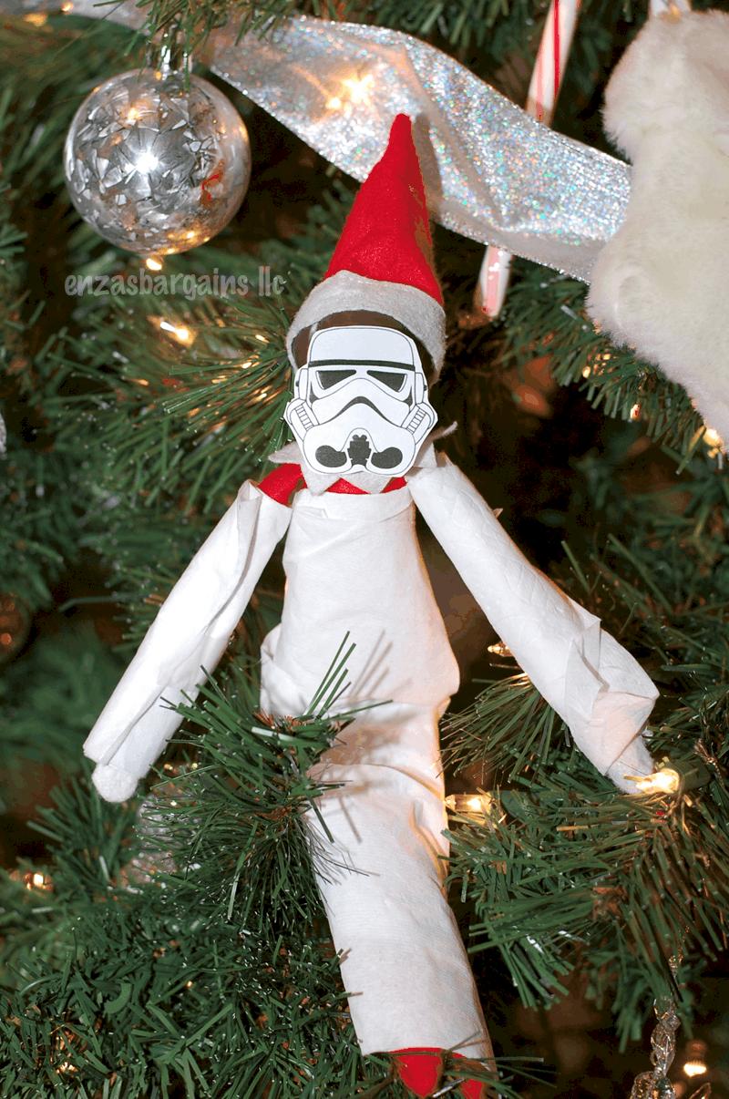 Elf On The Shelf Star Wars Free Printable Amp Ideas