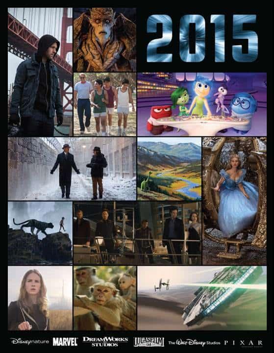 Disney 2015 Movies