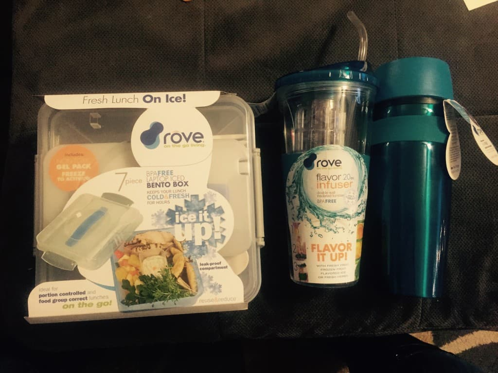 Rove's Laptop Iced Bento Box, Infused Cup, Hot and Cold Mug