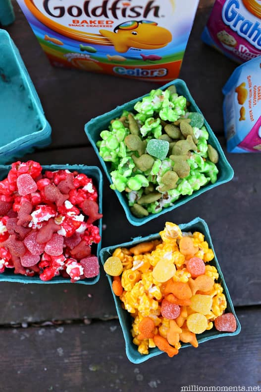 Rainbow Party Ideas - Rainbow Snacks