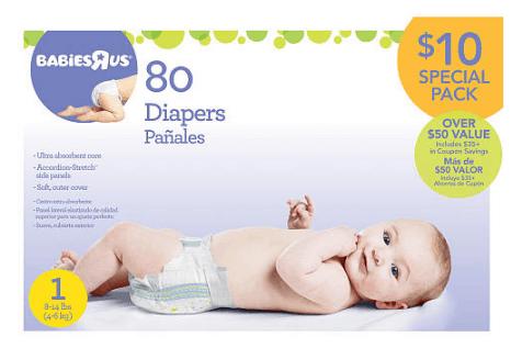 BabiesRUs Diaper Deal