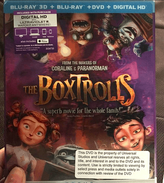 BoxTrolls comes out on