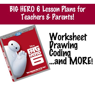 Big Hero 6 Lesson Plans