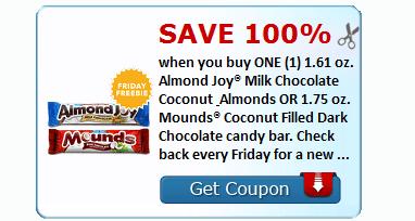 Free Almond Joys