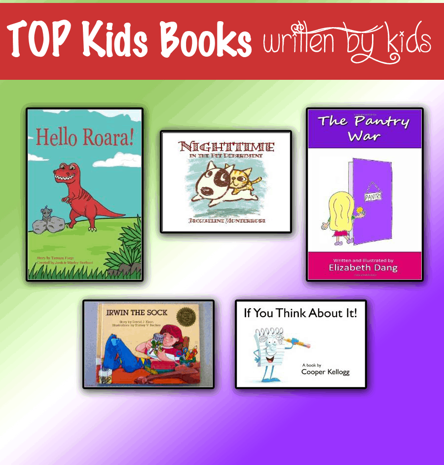TOP Kids Books Written By Kids
