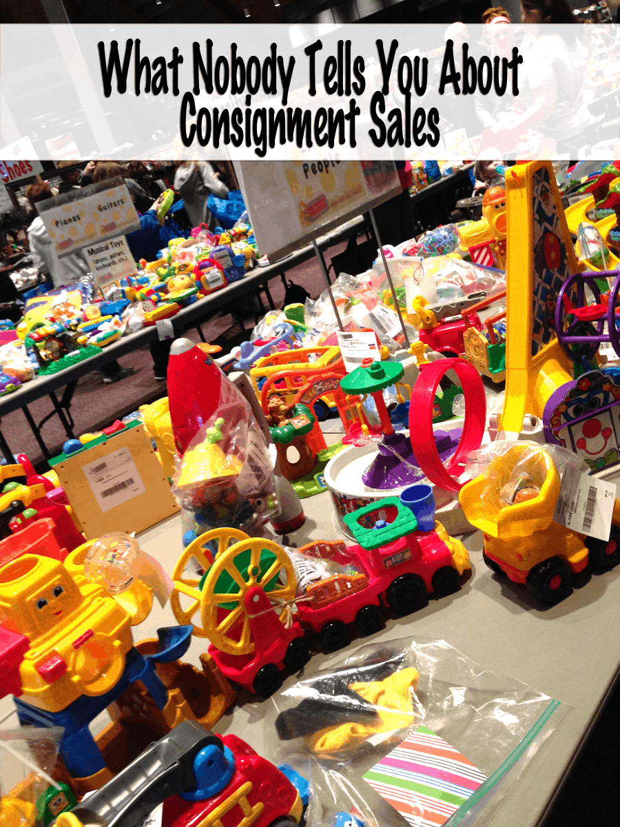 Just Between Friends - What Nobody Tells You About Consignment Sales