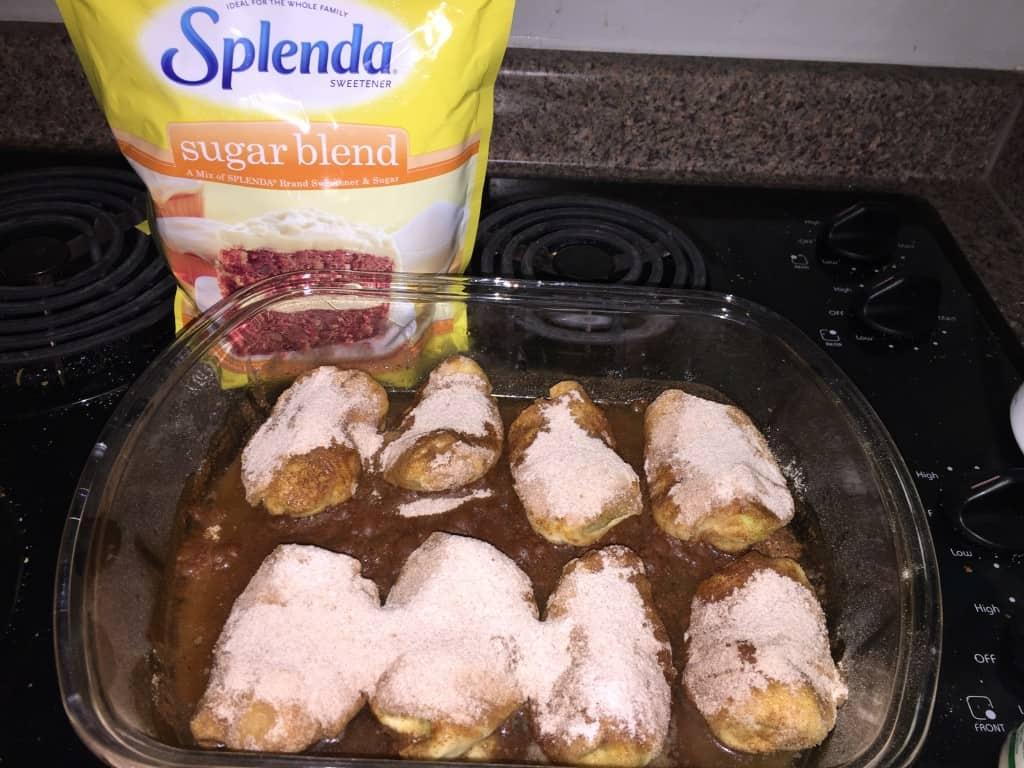 Splenda® Apple Dumplings Recipe - Low Calorie Great Taste
