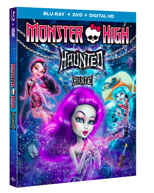 Monster High Haunted Blu-ray