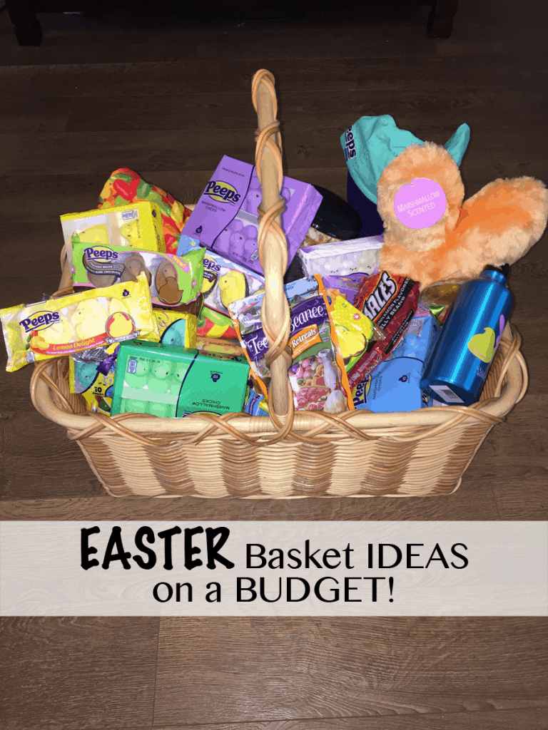 Easter basket ideas on a budget peepsonality easter basket ideas with peeps negle Choice Image