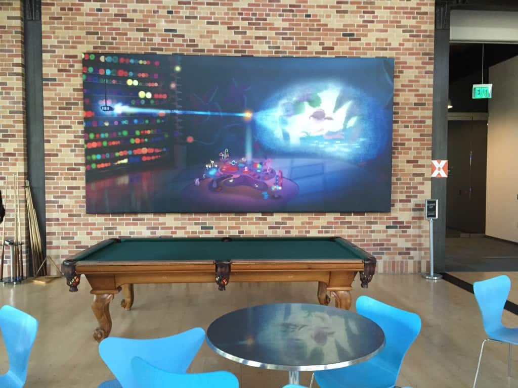 Pixar Tour Visit - 8 Things You Didn't Know About Pixar POOL Table