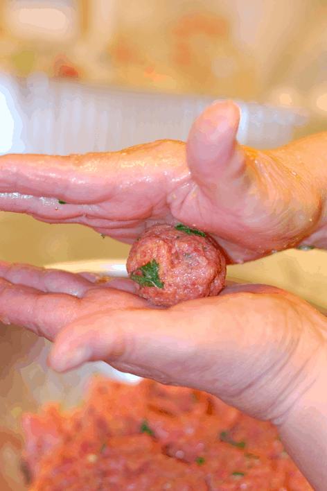 Homemade Italian Meatballs Recipe