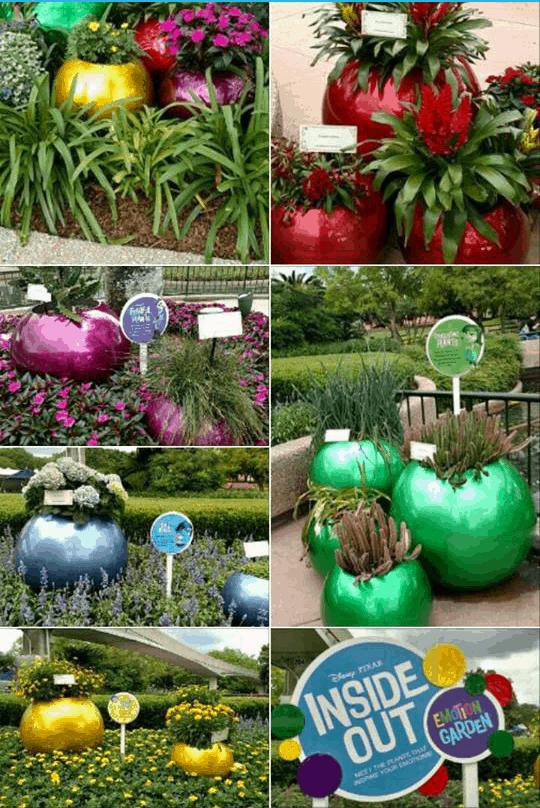 Inside Out Garden - Epcot
