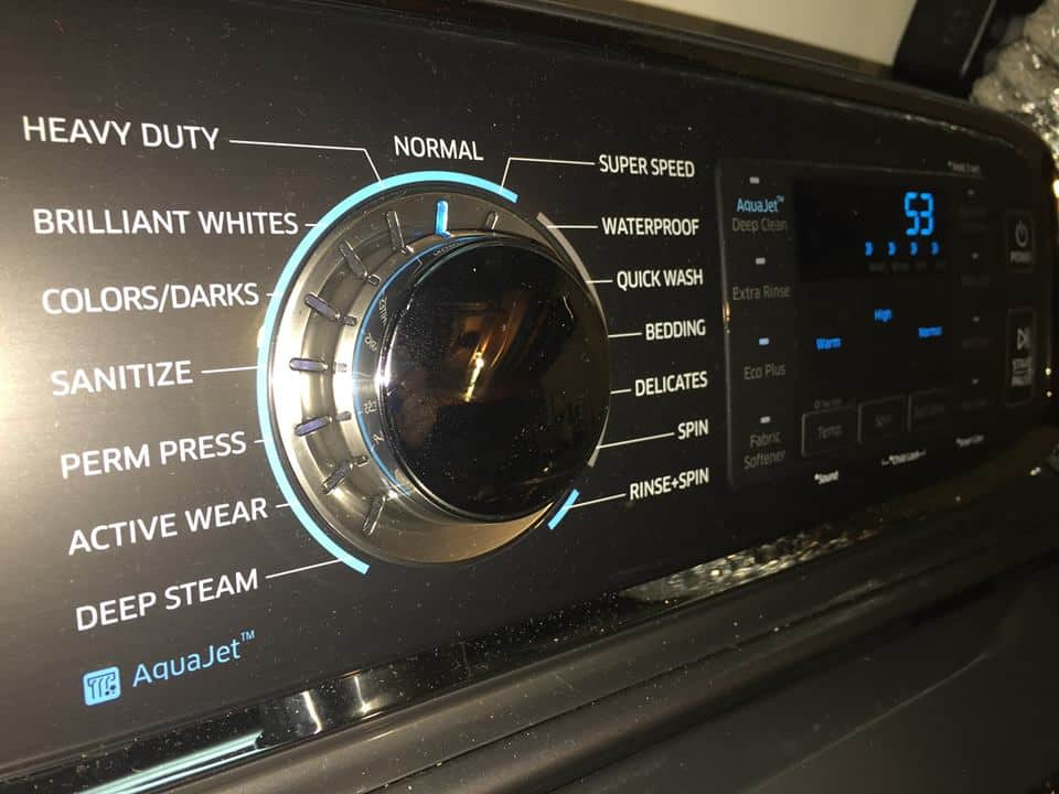 Samsung ActiveWash Washer Review