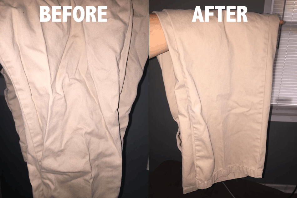 Samsung ActiveWash Washer Review and Dryer - Wrinkle Free Khaki pants are now wearable! It only needed 20 minutes!