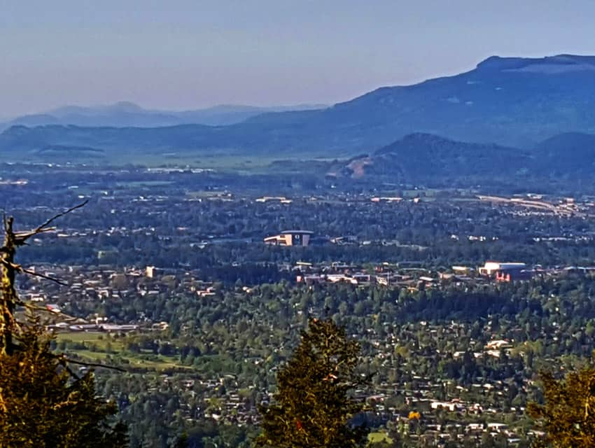 Spencer Butte in Eugene, Oregon