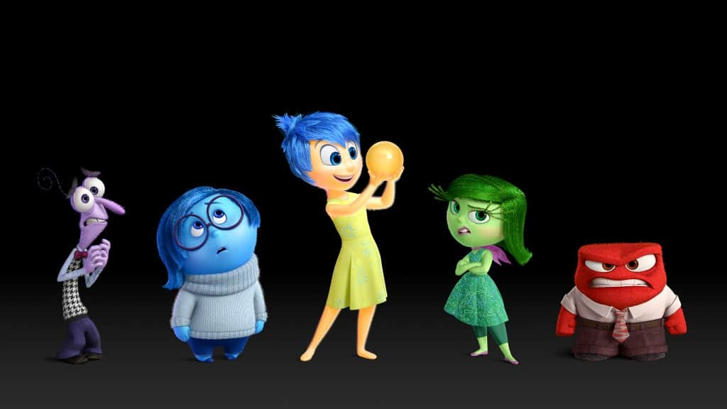 The characters...Disney•Pixar. All Rights Reserved.