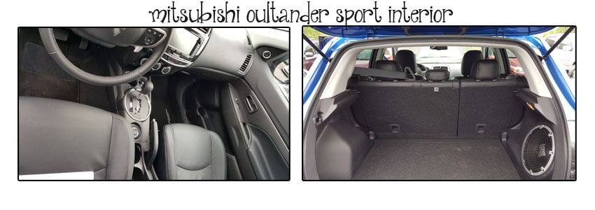 Mitsubishi Outlander Sport Interior Views.