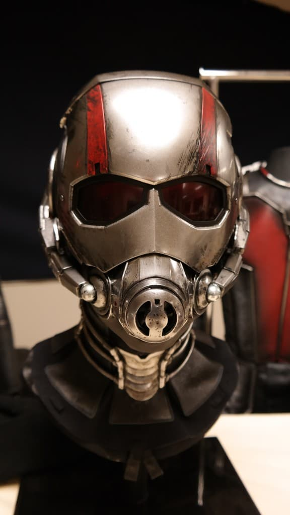Ant-Man Suit - Ant-Man Set Visit & Costume Department