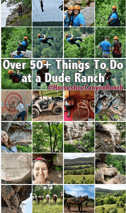 Things to do at a Dude Ranch