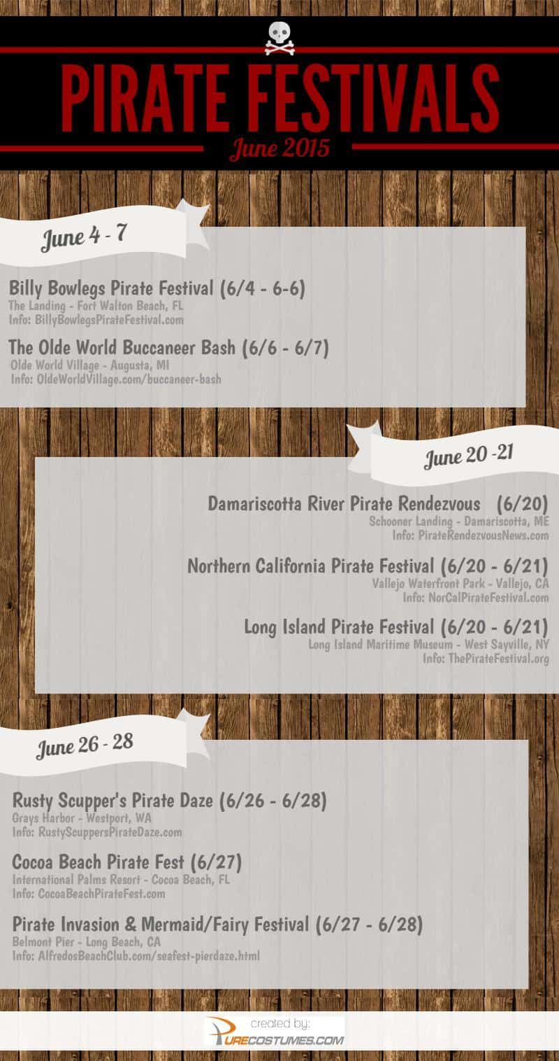 Pirate Events June 2015