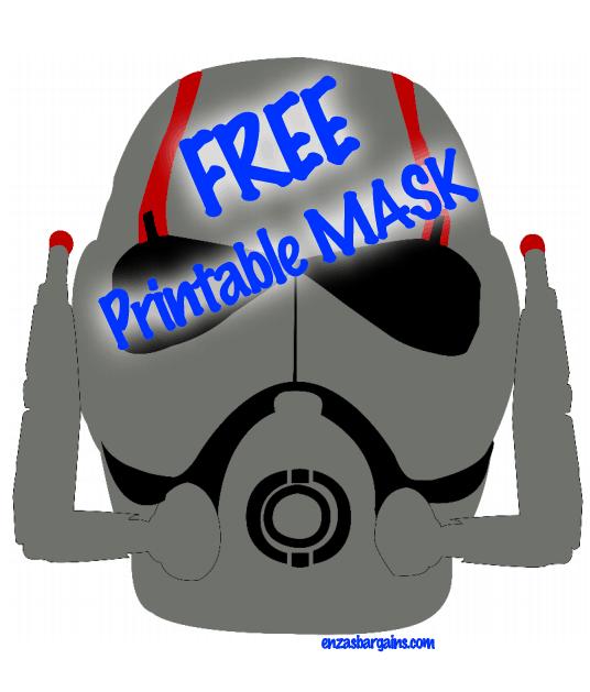 FREE Ant-Man Printable Mask