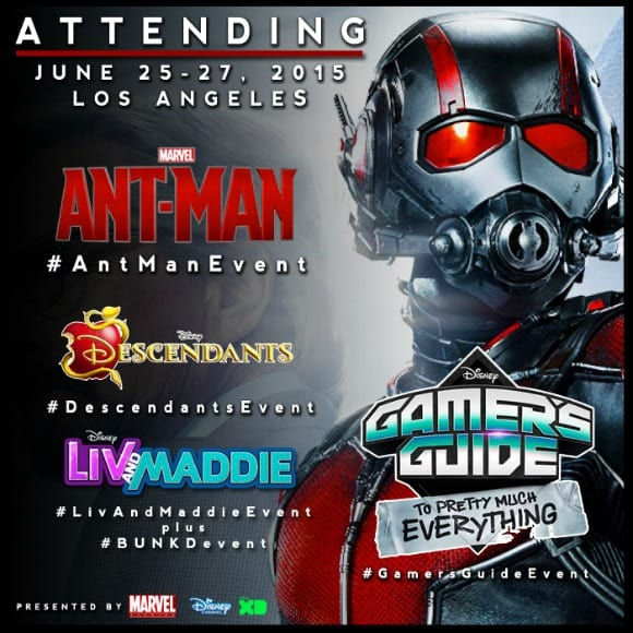 I am ATTENDING: Marvel Press Junket – Ant-Man