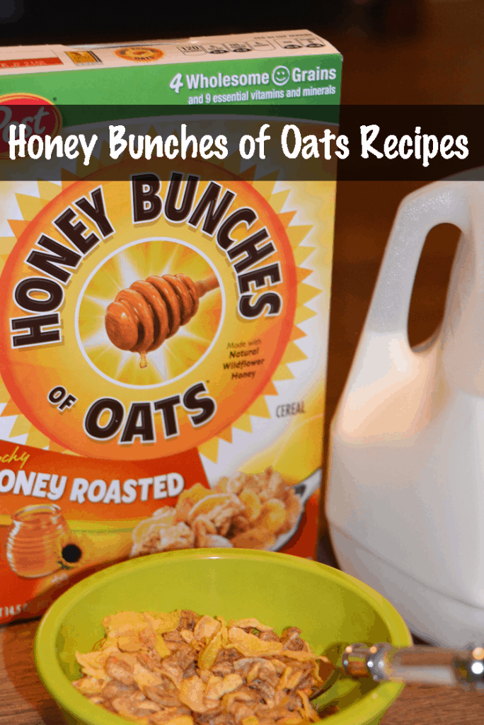 Honey Bunches of Oats Recipes - Breakfast for lunch and dinner!