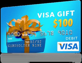 Visa Gift Card Giveaway! ENTER TO WIN $100! - EnzasBargains.com
