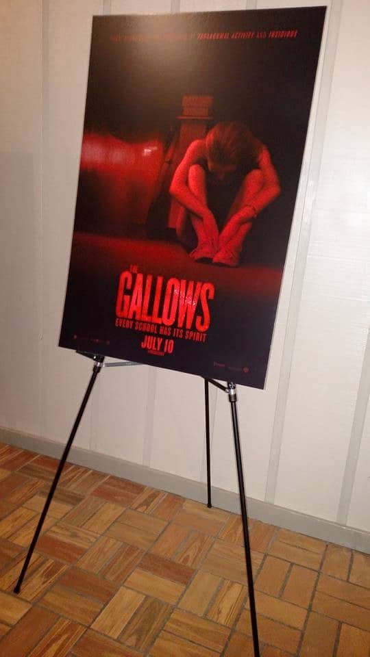 The Gallows Movie Review - Red Carpet Event with Chris and Travis!