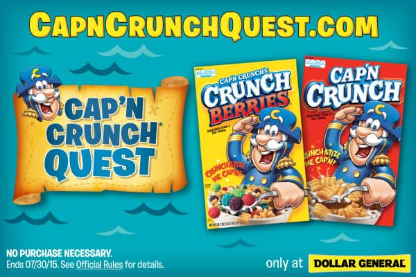 Cap'N Crunch Quest Instant Win Game - Did you WIN?!