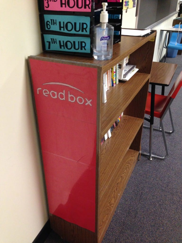 ReadBox in my Video Game Theme Classroom