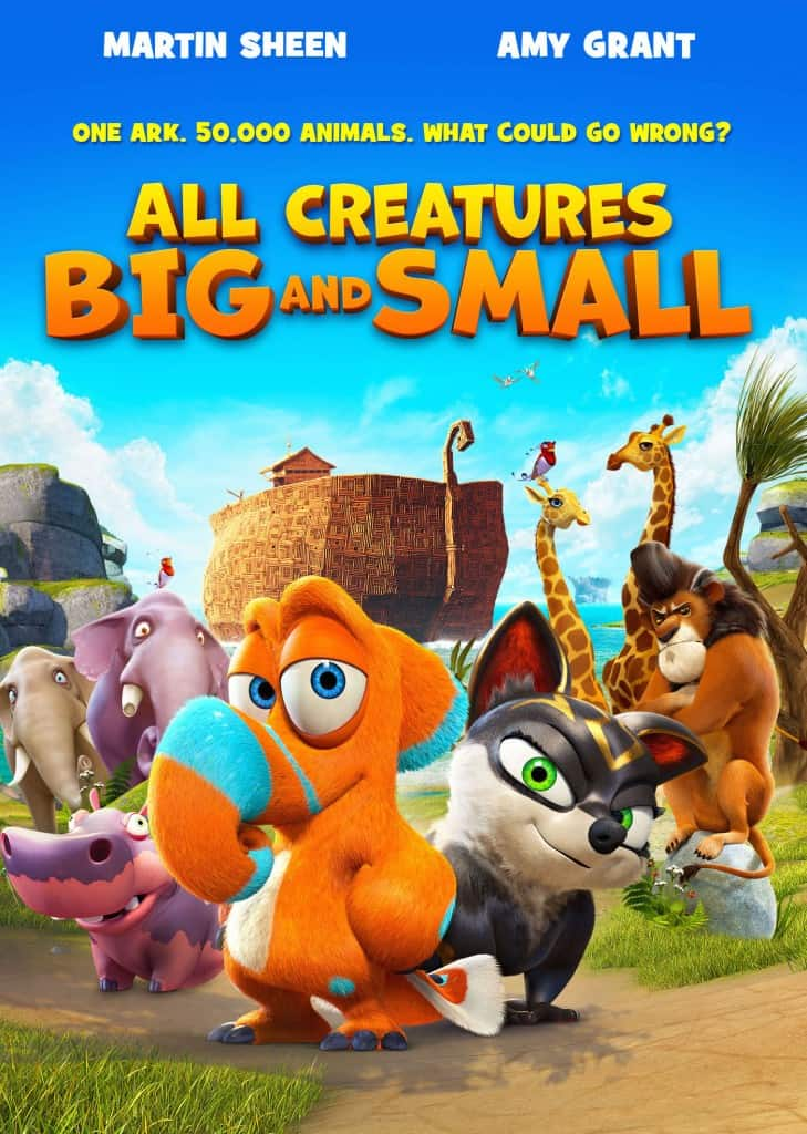 All Creatures Big and Small MOVIE - FREE AND FREE Coloring SHEET