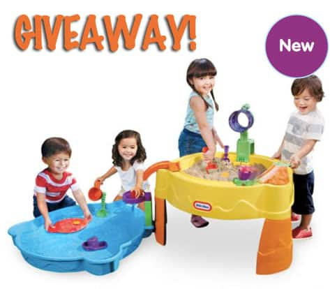 Little Tikes Treasure Hunt Sand & Water Table Giveaway!