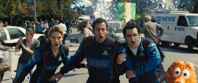Sony Pictures PIXELS Movie Review