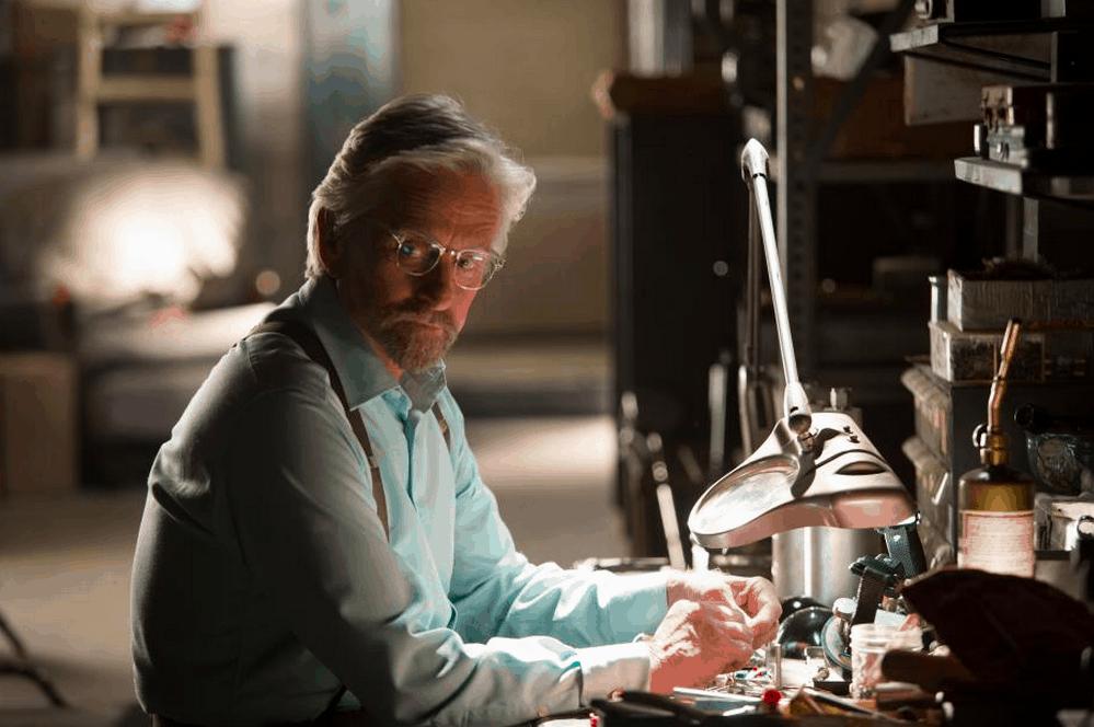Exclusive Michael Douglas Interview -Marvel's Ant-Man