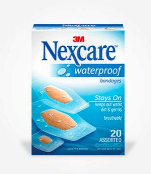 FREE Nexcare™ Waterproof Bandage Sample
