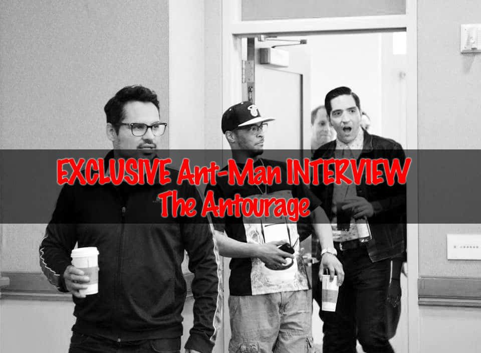 Marvel's Ant-Man Antourage: ANT-MAN Michael Pena, T.I. & David Dastmalchian Interview