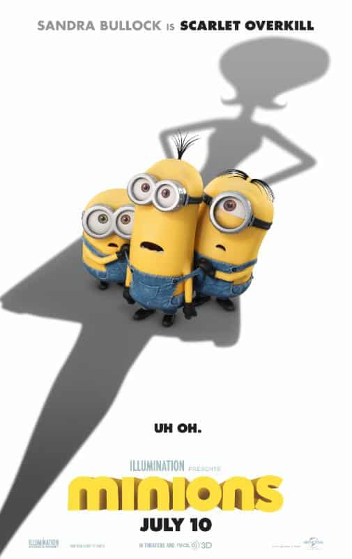 2015 Minions Movie Review
