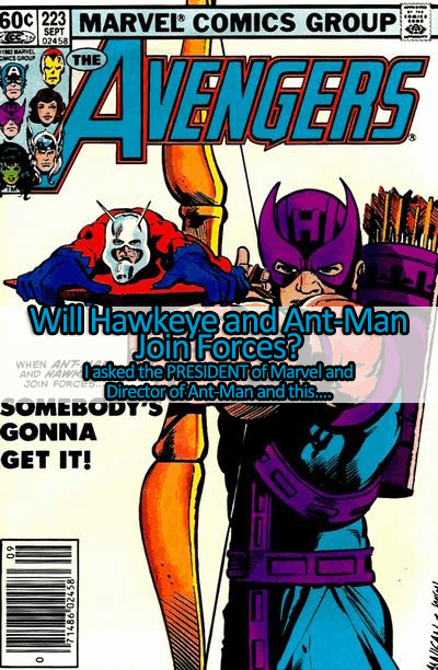 Hawkeye and Ant-Man Will Probably Join Forces! – Exclusive Kevin Feige & Peyton Reed Interview