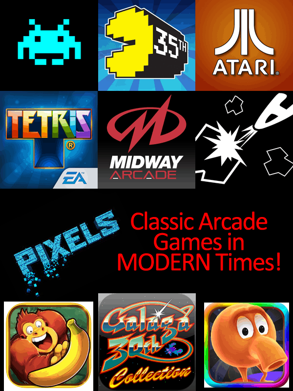 Video Games in Pixels - Adam Sandler Helps Bring Back the 80s!