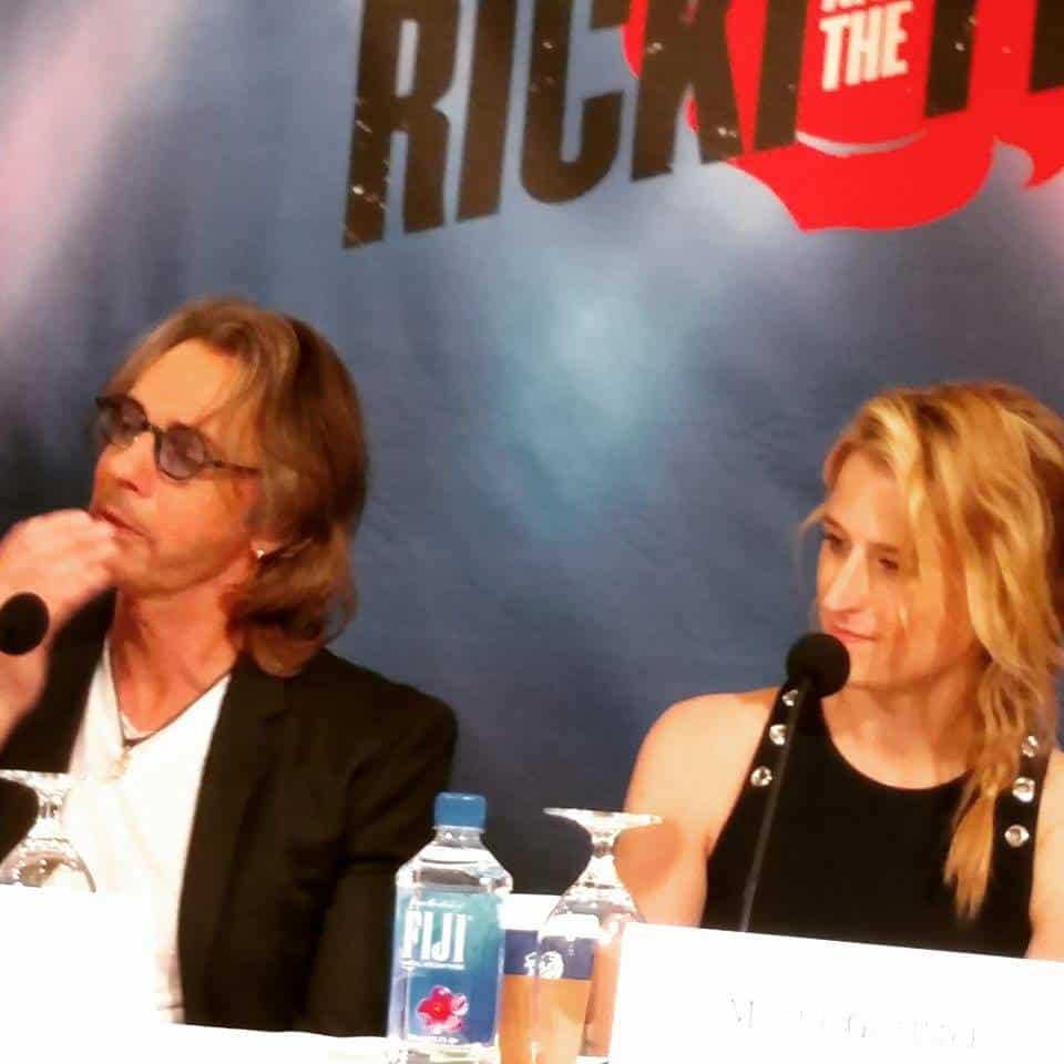 Exclusive Interview - Meryl Streep, Rick Springfield, Mammie Gummer #RickAndTheFlash