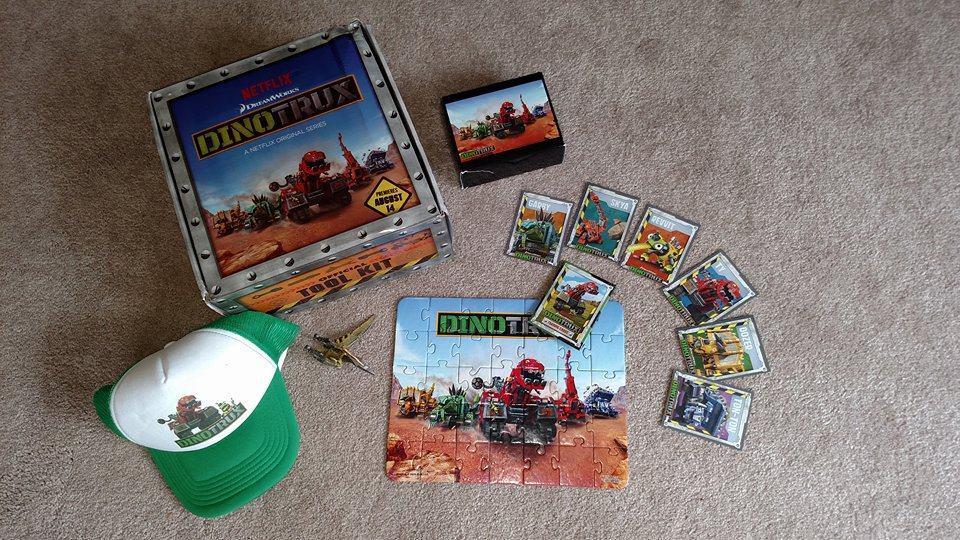 DINOTRUX is Half Dinosaur Half Truck and All Fun