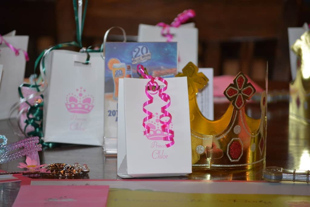 Quick Birthday Planning Idea – Customized Birthday Party Favors