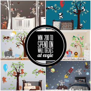 $200 Gift Card to Evgie Wall Decals