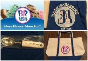Baskin-Robbins gift package