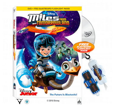 Disney's Miles From Tomorrowland DVD & Travel Kit Giveaway!