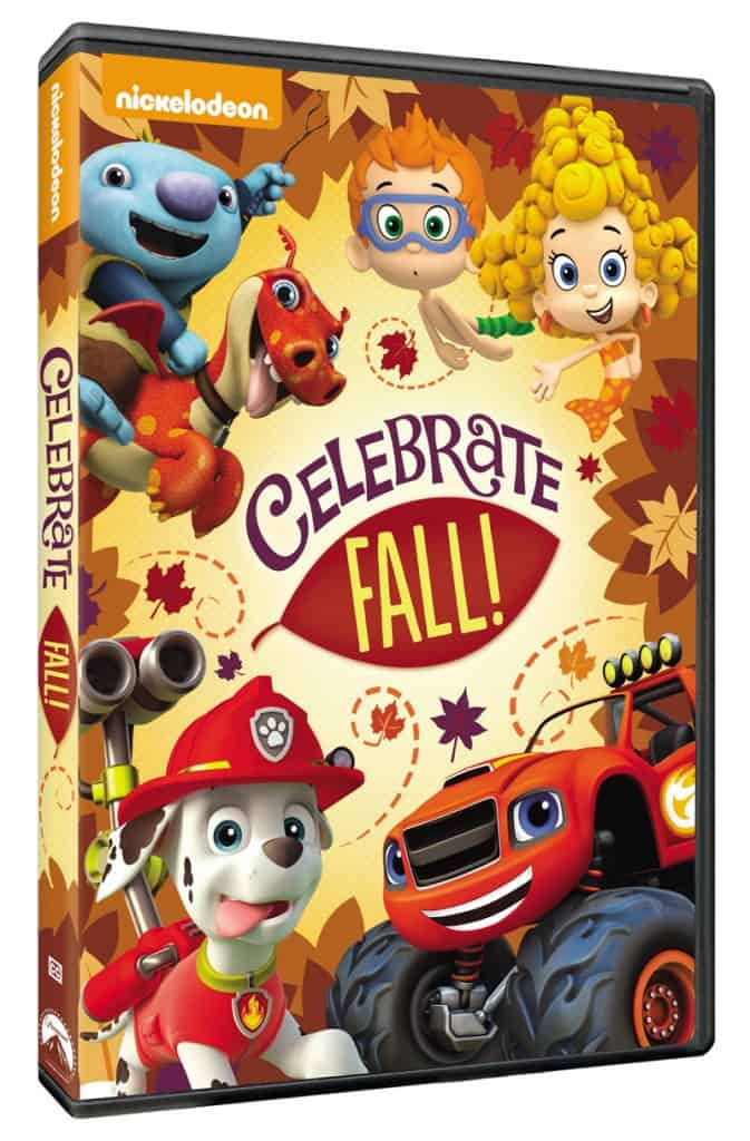 """Nickelodeon called """"Celebrate Fall!"""" DVD only $14.99"""