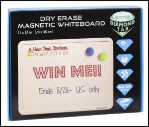 DiamondTab Dry Erase Magnetic Whiteboard