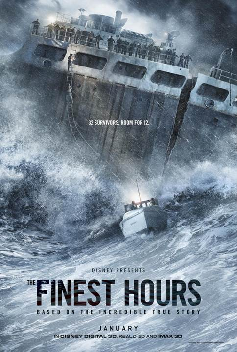 """Who is Daniel Cluff? – Disney's  """"The Finest Hours"""""""