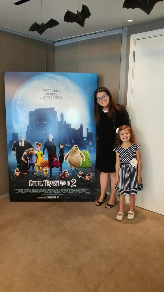 Hotel Transylvania 2 – A press junket for my 6 year old!